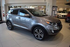 2015 Kia Sportage SX TURBOCHARGED w/ AWD / LOW KMS