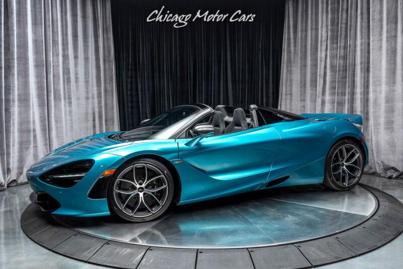 Image 2 Voiture Asiatique d'occasion McLaren 720S 2020