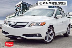 2013 Acura ILX Premium at No Accident  Back-Up Camera  Bluetooth