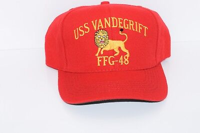 US Navy USS Vandegrift (FFG-48) Ball Cap Hat - Made in the USA