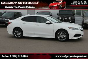 2015 Acura TLX Tech NAVI/B.CAM/B.S.M/LEATHER/ROOF/MUST SEE