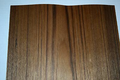 Teak Raw Wood Veneer Sheets 13 X 34 Inches 142nd Thick   F8629-29