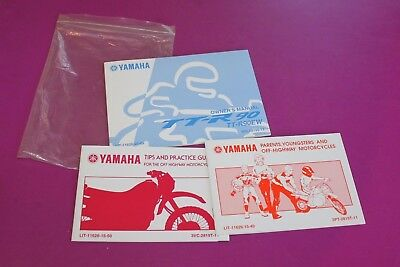 Yamaha Tt R90ew Owners Manual  Lit 11626 20 09  Plus A Couple Other Booklets