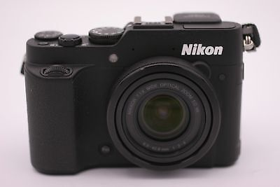 Nikon COOLPIX P7800 12.2MP Digital Camera - Black