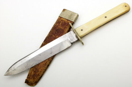 Circa 1850s-1860s American Civil War era English Bowie Knife