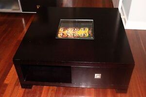 Wenge Solid Hardwood Square Coffee Table Girrawheen Wanneroo Area Preview