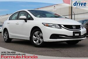 2015 Honda Civic LX Bluetooth|Rearview Camera|Cruise Control