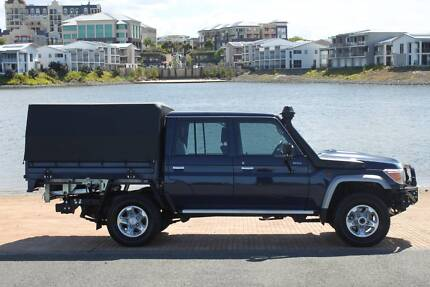 2016 Toyota Landcruiser VDJ79R GXL Cab Chassis Double Cab 4dr Man Merrimac Gold Coast City Preview