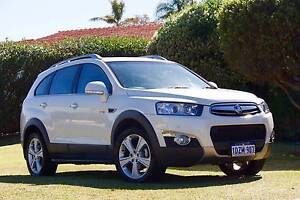 2012 Holden Captiva CG Series II 7 Diesel LX Pearl White Wembley Cambridge Area Preview