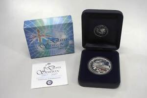 Perth Mint 2007 1oz Silver Coin, Davis Station $1 Nerang Gold Coast West Preview