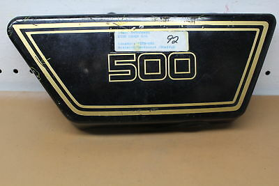 1976 1977 <em>YAMAHA</em> XS500 RIGHT SIDE COVER FAIRING COWL YTPU85