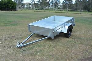 7x4 Galvanised Trailer Beenleigh Logan Area Preview