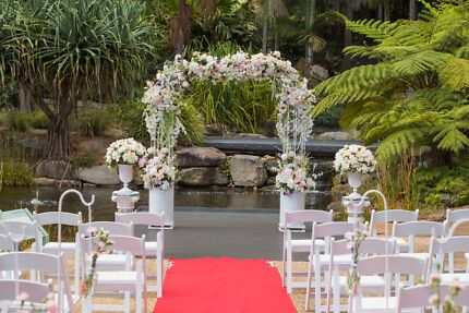 Wedding arch gumtree australia free local classifieds wedding floral arch for hire junglespirit Choice Image