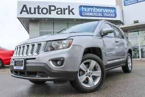 2017 Jeep Compass Sport/North 4X4|SUNROOF|HEATED LEATHER