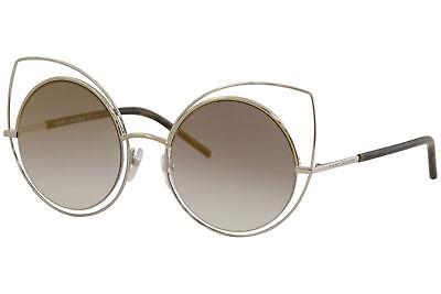 Marc Jacobs Women's 10/S 10S TWMFQ Palladium Fashion Round Sunglasses 53mm