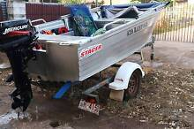 Tinny 2011 4.3 mtr Savage on a Telwater trailer - MUST BE SOLD ! Alawa Darwin City Preview