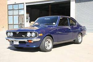 1975 Mazda Capella (RX2) Rotary Coupe Fyshwick South Canberra Preview