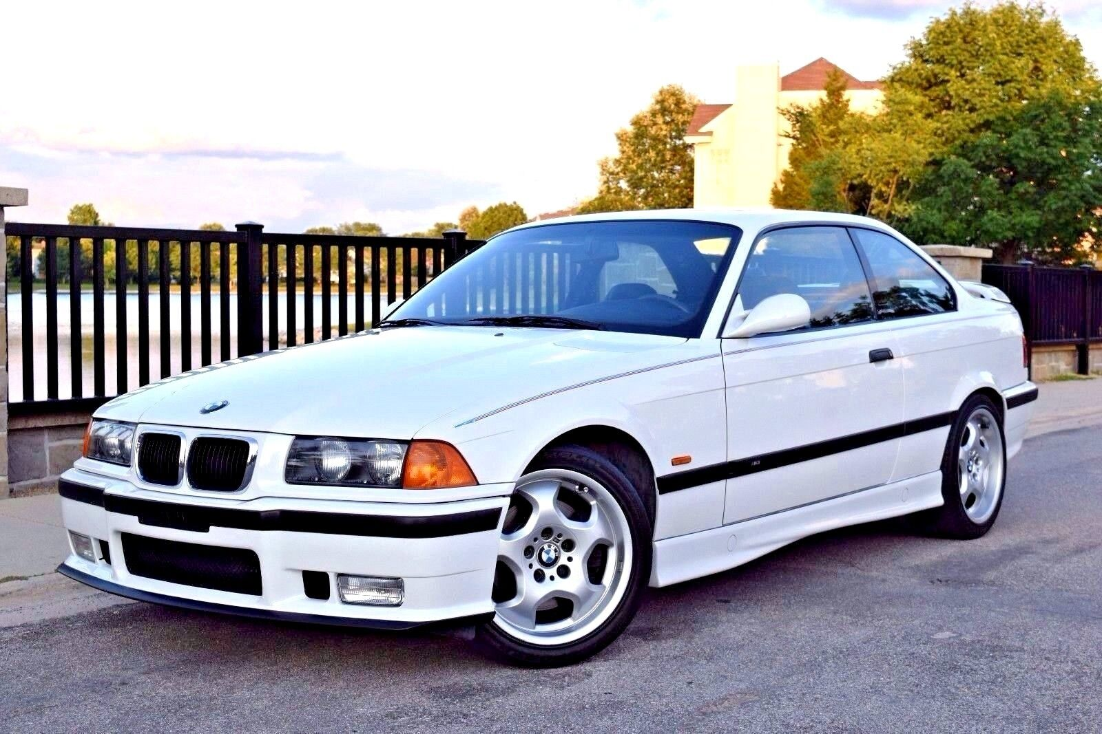 1999 BMW M3  1999 BMW M3 Coupe Alpine White/Black Vader Seats 100% Stock Immaculate 34k Miles