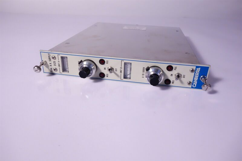 Canberra 3125 Dual HV Power Supply Tested, Working 30 Day Warranty
