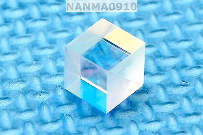 1pc Pbs Broadband Transparent 450nm-660nm Polarizing Beam Splitter Cubes 10x10mm