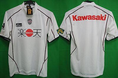 2005 Vissel Kobe Jersey Shirt Away J-league RAKUTEN Kawasaki asics Jaspo O BNWT image