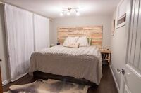 Custom Pallet Head Boards/Night Tables and furniture refinishing