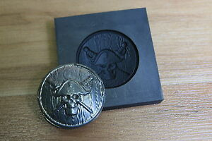 graphite pirate coin mold