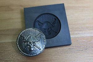 graphite pirate coin mold