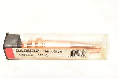 Radnor Airco Style Cutting Torch Tip 144-2. 64003114