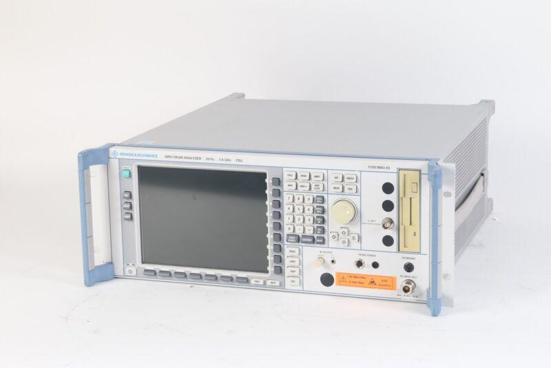 Rohde & Schwarz 1129.9003.03 20 Hz - 3.6 GHz FSU Spectrum Analyzer