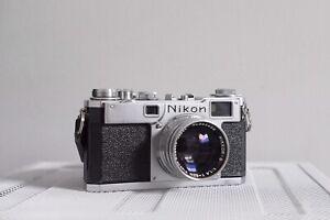 Nikon S2 + 5cm 1.4 (35mm film rangefinder)