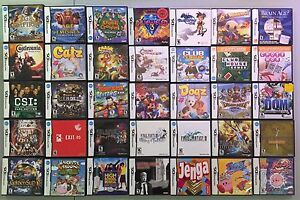 Nintendo DS games - Lots to choose from!