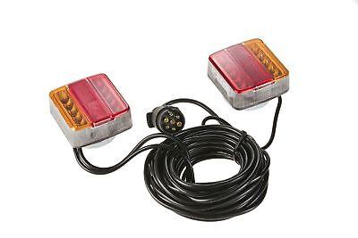 SWV 400044  LED Anhänger Trailer Beleuchtungs Satz Universal, Magnet