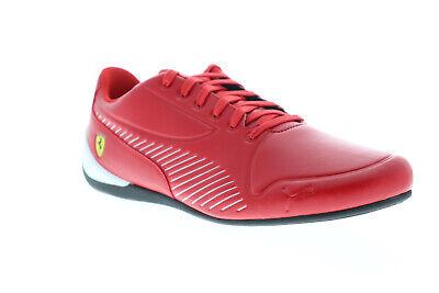 Puma Scuderia Ferrari Drift Cat 7S Ultra Mens Red Low Top Racing Shoes
