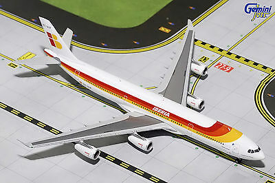 Gemini Jets Iberia  Spain  Airbus A340 300 Gjibe1630 1 400  Reg  Ec Gup  New