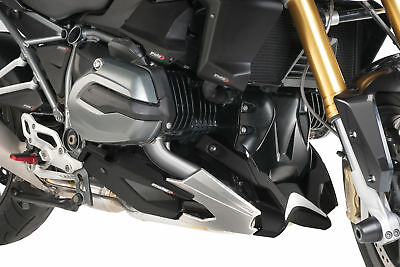 PUIG ENGINE SPOILER CARBON LOOK BELLY PAN COMPATIBLE FOR BMW R 1200 R 2015 >
