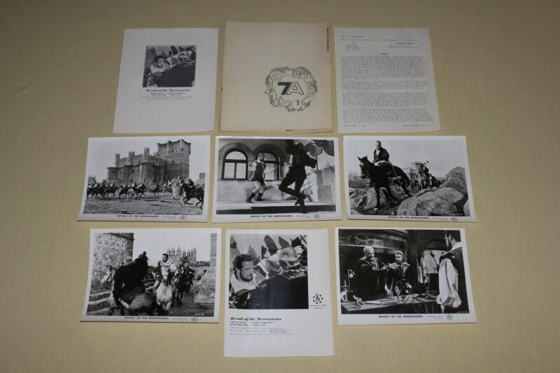 REVOLT OF THE MERCENARIES - press kit 5 photos Virginia Mayo Conrado San Martin