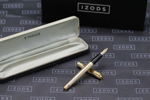 Parker 75 Presidential 14k Solid Gold Fountain Pen - Flat Tassies