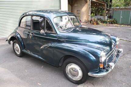 1954 2-Door Split Windscreen Morris Minor Sedan Tallai Gold Coast City Preview