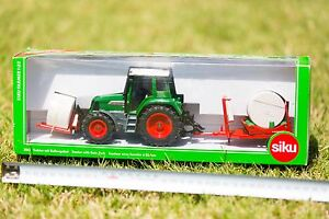 SIKU 3861 Tractor with Bale Fork 1:32 Scale - NEW Manly West Brisbane South East Preview