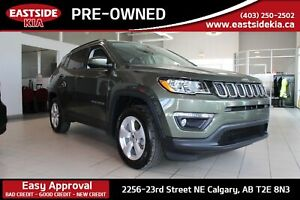 2018 Jeep Compass NORTH 4WD HEATED STEERING/SEATS BACK UP CAMERA