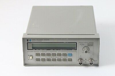 Hp Hewlett Packard Agilent Keysight 5384a Frequency Counter W Opt 001 Tcxo