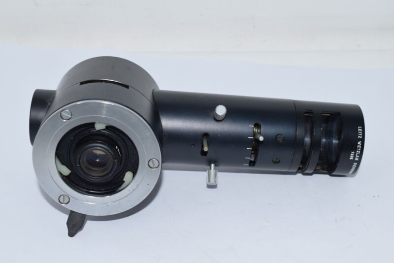 Leitz Wetzlar Germany 7496 L1123 Microscope Optic Inspection