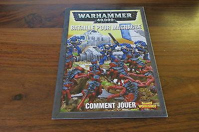 Batalla de Macragge Warhammer 40000 Libro segunda mano  Embacar hacia Spain