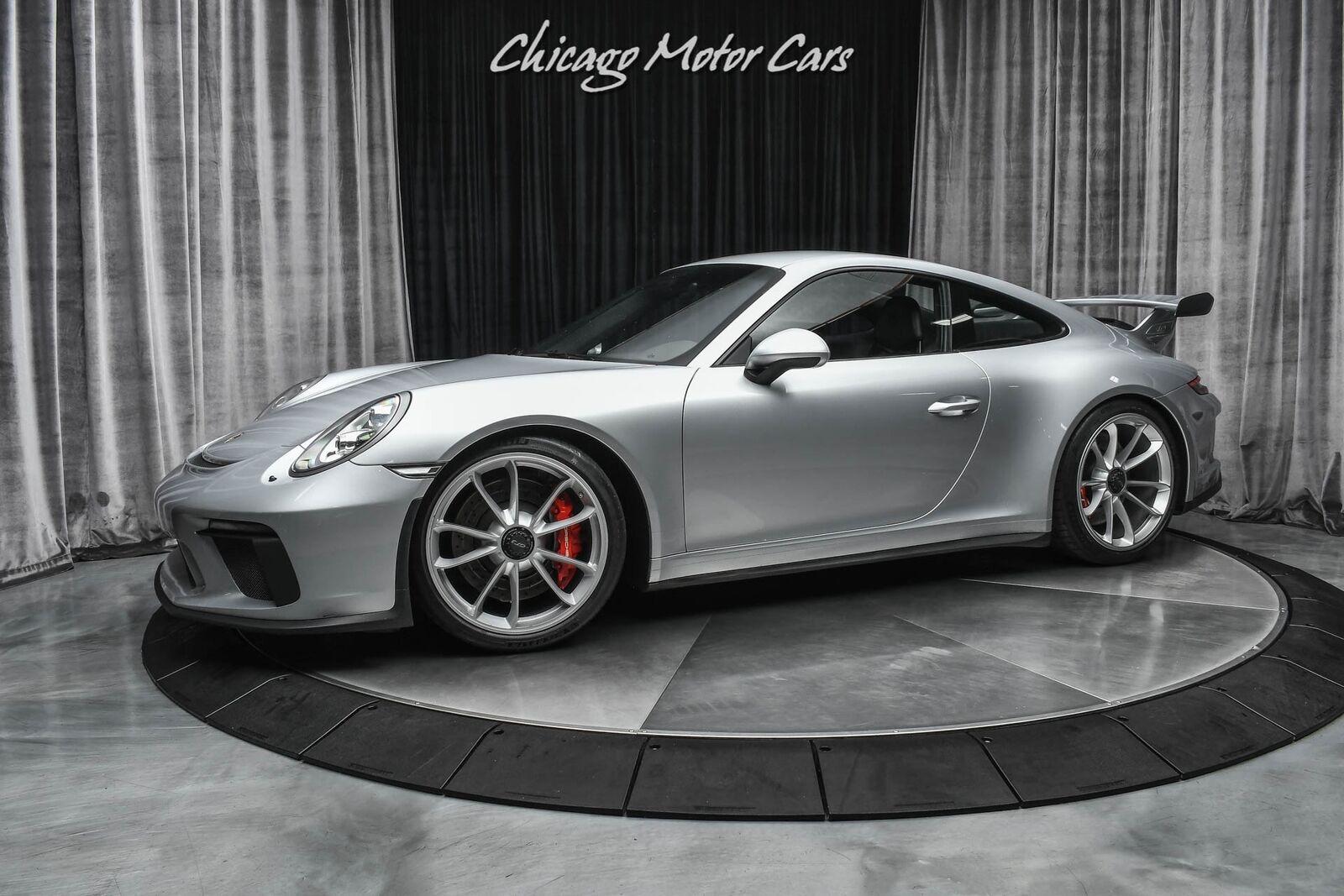 2018 Porsche 911 GT3 Carbon Fiber Bucket Seats! Bose Audio! Rhodium Silver Metal