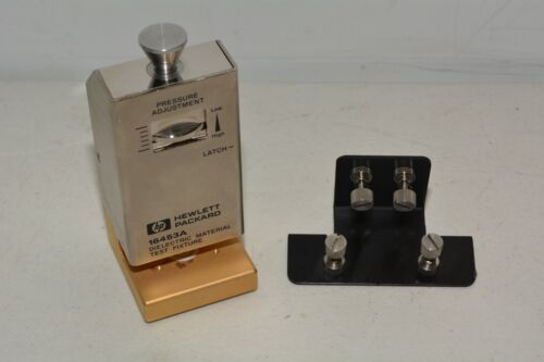 HP 16453A Dielectric Material Test Fixture