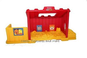 Fisher-Price-Little-People-Chicken-Coop-Coupe-Animal-Nest-NEW