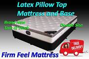DOUBLE Latex Bed Ensemble MATTRESS + BASE Delivered FREE!! Carrara Gold Coast City Preview