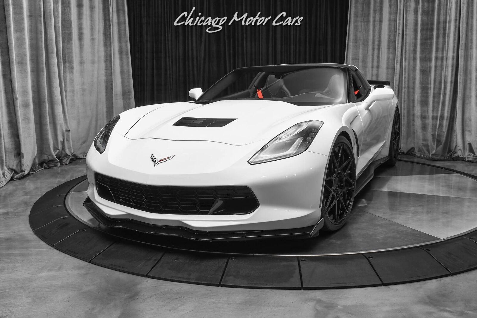 2016 White Chevrolet Corvette Stingray    C7 Corvette Photo 2