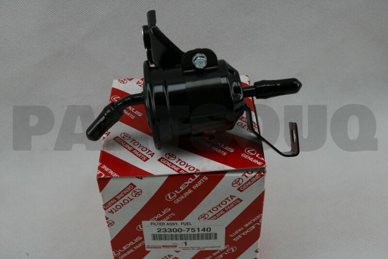 2330075140 Genuine Toyota Filter, Fuel(for Efi) 23300-75140